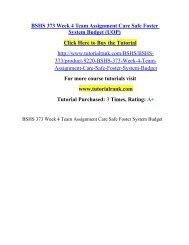 BSHS 373 Week 4 Team Assignment Care Safe Foster System Budget (UOP).pdf