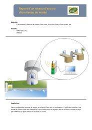 Report d'un niveau d'eau ou d'un niveau de marée