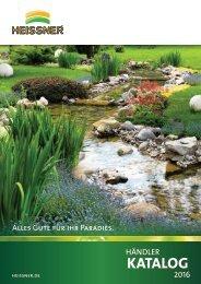 HEISSNER Wassergarten Katalog 2016