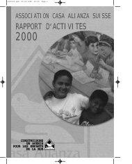 RAPPORT D,ACTIVITE S - Casa Alianza Suisse