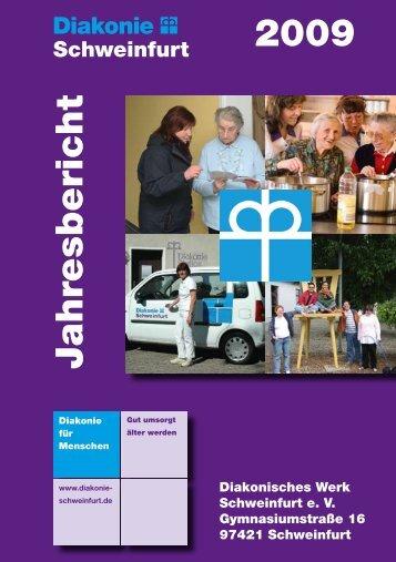 2009 Jahresbericht - Diakonie Schweinfurt