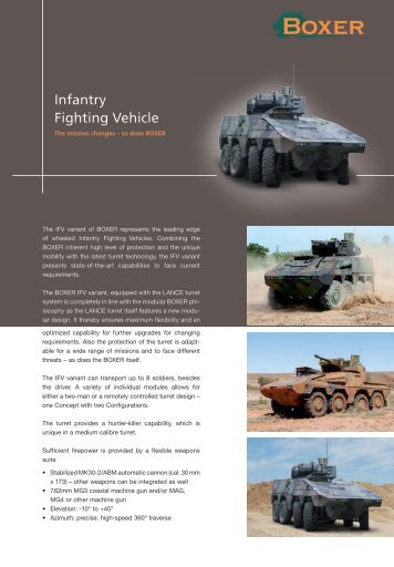Infantry Fighting Vehicle - artec