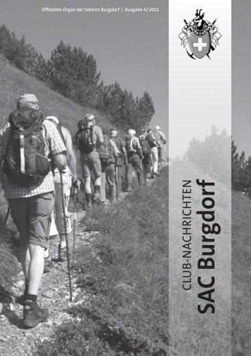 SAC Bulletin 4_11 1.1.indd - beim SAC Burgdorf