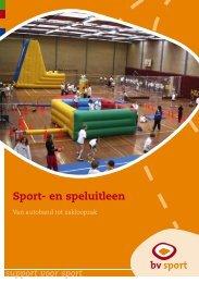 Sport- en speluitleen