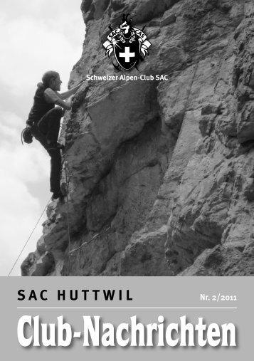 Tourenprogramm Sektion April–Juni 2011 - SAC Huttwil