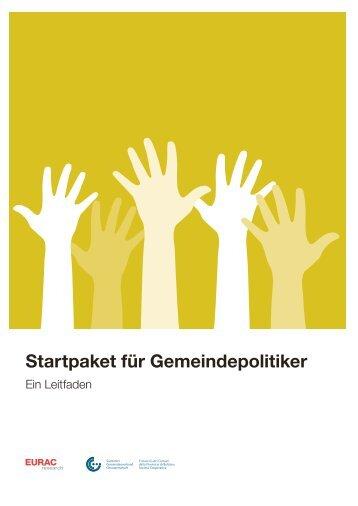 Startpaket für Gemeindepolitiker