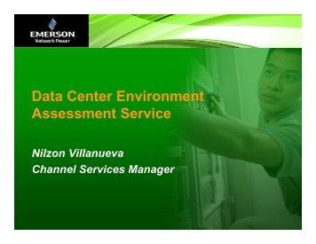Data Center Environment Assessment Service - Emerson Network ...