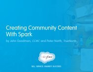 Creating Community Content With Spark