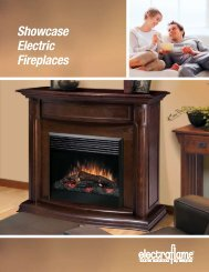 Showcase Electric Fireplaces