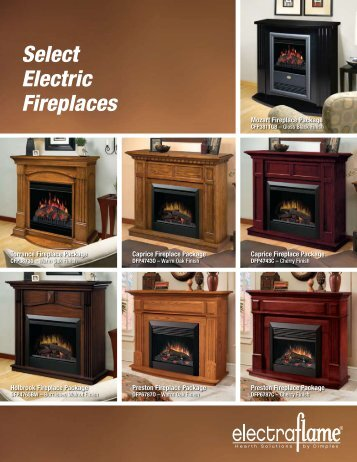 Select Electric Fireplaces - Woodbridge Fireplace