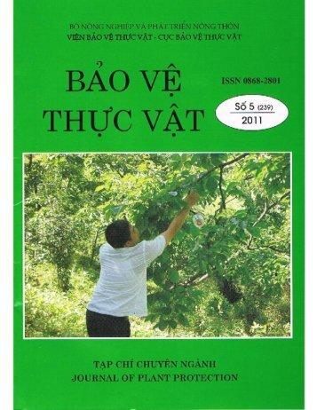 Bao bao ve benh trang la tren Tap chi BVTV, trang 14-17, so 5