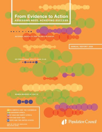 Population Council Annual Report 2008: From Evidence to Action