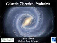 Galactic Chemical Evolution