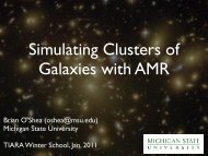 Simulating Clusters of Galaxies with AMR