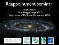 Reappointment seminar