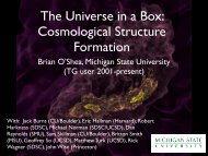 The Universe in a Box Cosmological Structure Formation