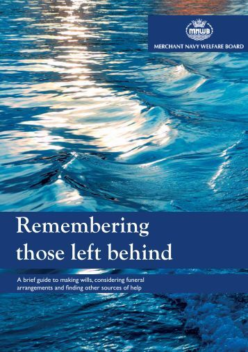 Remembering those left behind
