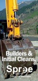 Builders & Initial Cleans