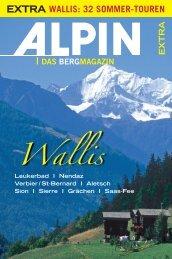 wallis: 32 sommer-touren - Alpin.de