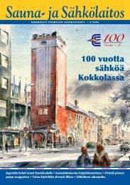 100 vuotta sähköä Kokkolassa