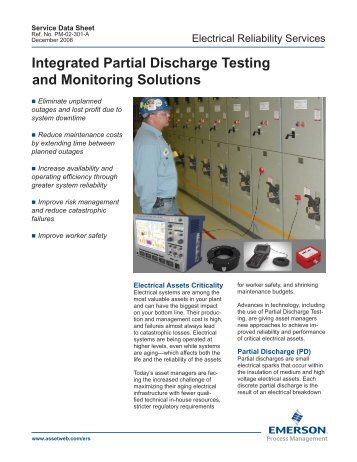 Integrated Partial Discharge Testing and Monitoring Solutions