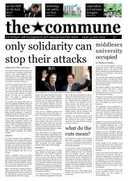 only solidarity can stop their attacks