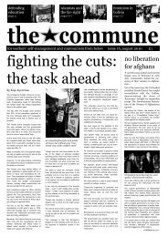 fighting the cuts the task ahead