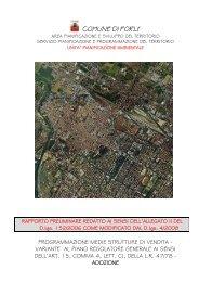 programmazione medie strutture di vendita - Comune di Forlì