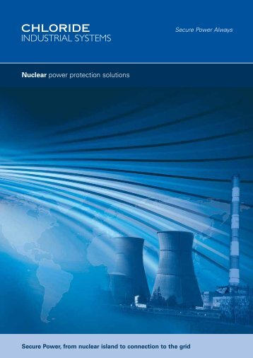 Nuclear Solutions - Emerson Network Power