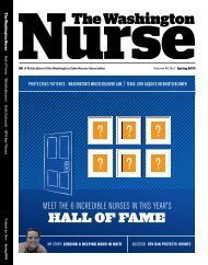 Hall of fame - The Washington State Nurses Association