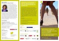der Flyer zum - Internationales Frauenfilmfestival Dortmund