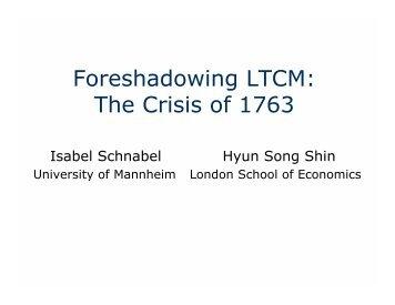 Long-Term Capital Management (LTCM)