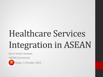 Integration in ASEAN