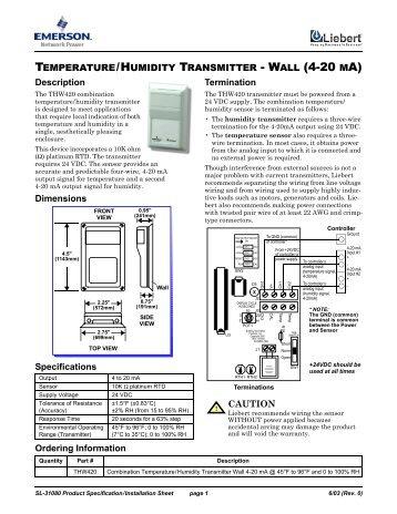 liebert intellislot modbus 485 modbus ip and bacnet ip rh yumpu com FC to BACnet Wiring-Diagram plc Wiring Diagrams