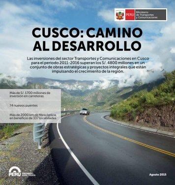CUSCO CAMINO AL DESARROLLO