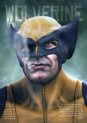 """""""if you're wondering why I chose to recreate Wolverine ... - 3DCreative"""