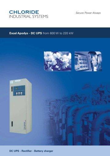 Excel Apodys 400W-450kW - NLE - Emerson Network Power