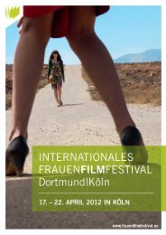 Download Magazin (pdf) - Internationales Frauenfilmfestival Dortmund
