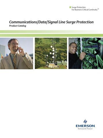 Communications/Data/Signal Line Surge Protection