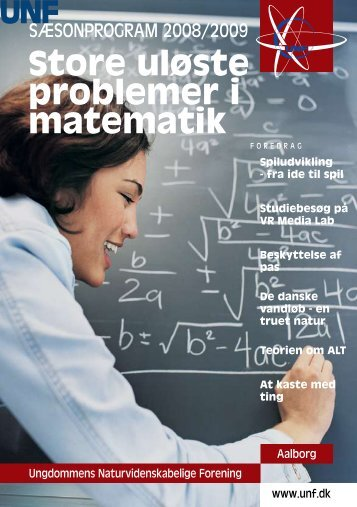 Store uløste problemer i matematik