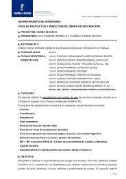 CFGS DE PROYECTOS Y DIRECCIÓN DE OBRAS DE DECORACIÓN
