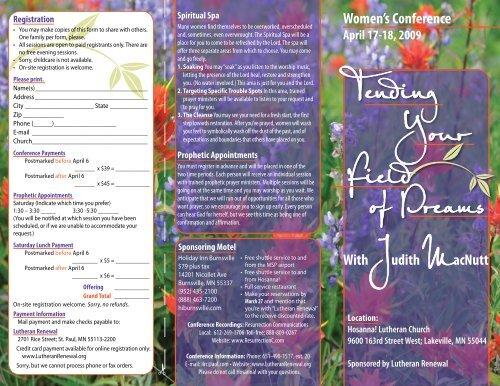 Tending Your Field of Dreams Judith MacNutt