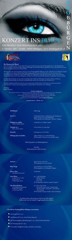 Ein Konzert ins Blaue!