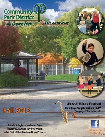Fall 2012 - Community Park District La Grange Park