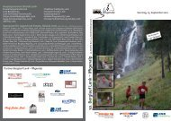 30. Berglauf Lenk – Iffigenalp - Skiclub Lenk im Simmental