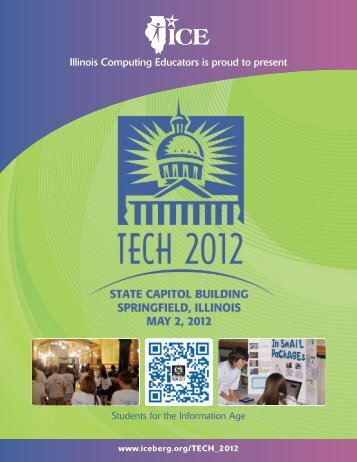 TECH 2012 Demonstrations 1:00 - Illinois Computing Educators