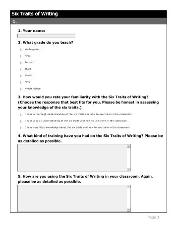 best rubrics images on Pinterest   Rubrics  Teaching ideas and     SlidePlayer     The     Trait Writing Model for    Assessment