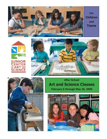 Art and Science Classes