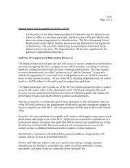 GENERAL INDEX - West Hempstead Union Free School District