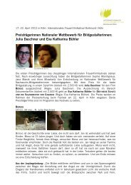 PM IFFF 2012_Preisträgerinnen Bildgestaltung - Internationales ...